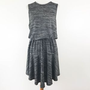 Mossimo Dress Drawstring Swing Large Heathered